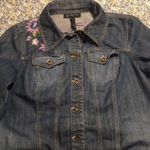 I-N-C Jean jacket size 2x